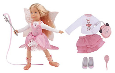 Kruselings Doll Vera, Deluxe Set with Magical Outfit, Casual Outfit and