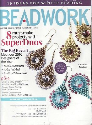 Back Issue  Beadwork Magazine    February/March 2016