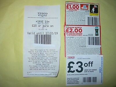 £10 Money Off Coupons Tesco & Daz & Lenor Products,