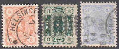 Finland 18//21 Sound Vf To Superb $109 Scv Nice Cancels