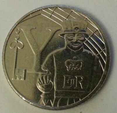 NEW A-Z 2018 ALPHABET 10p COIN HUNT-  LETTER Y - YEOMAN  UNCIRCULATED