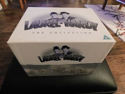 Laurel and Hardy: The Collection (Box Set) [DVD] - boxed CIB