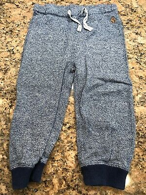Baby Gap Baby Boys Blue Heathered Lounge Pants Size 18-24 Months