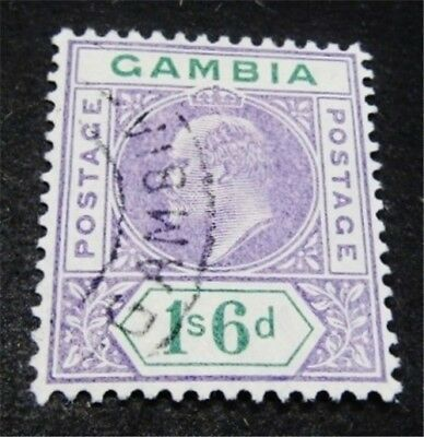 nystamps British Gambia Stamp # 60 Used $75
