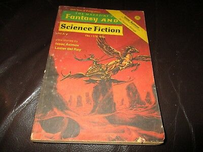 The Magazine Of Fantasy And Science Fiction May 1974