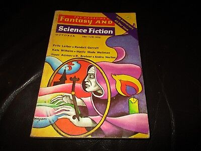 The Magazine Of Fantasy And Science Fiction October 1973