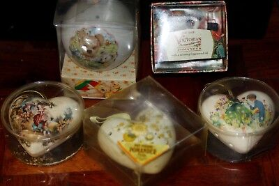 Five Vintage Pomanders All Boxed Never Used