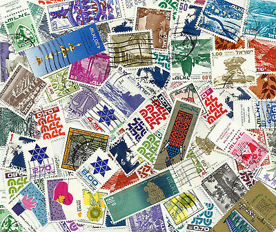 ISRAEL 100 Timbres