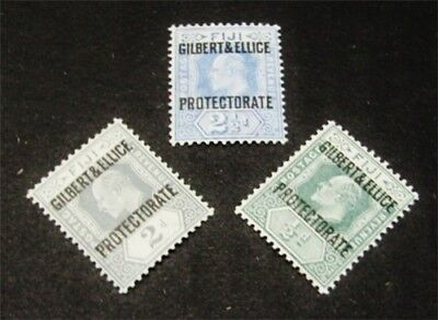 nystamps British Gilbert & Ellice Islands Stamp # 1//4 Mint OG H $38