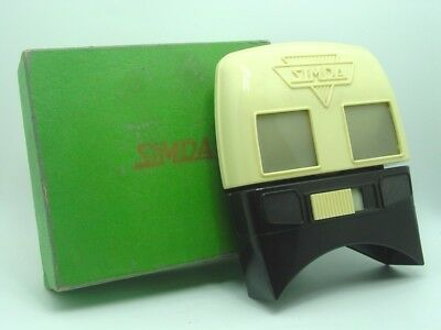Boxed STEREO viewer for SIMDA PANORASCOPE camera  super rare,excellent condition