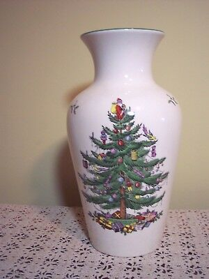 Spode Christmas Tree S3324 Two Tier Double Tidbit Tray 10 3