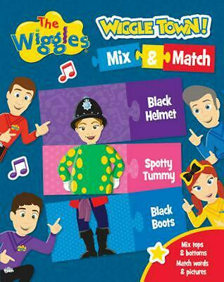 The Wiggles: Wiggle Town! Mix & Match by The Wiggles Board Books Book Free Shipp
