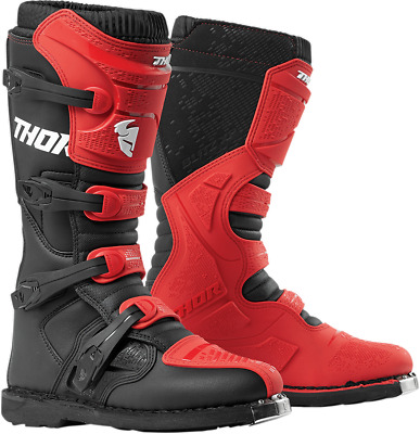 Thor XP Blitz Boots - Red/Black - All Sizes