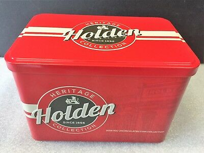 2016 Australia Holden Heritage Collection Set Of 12 X 50 Cents Coins Ram