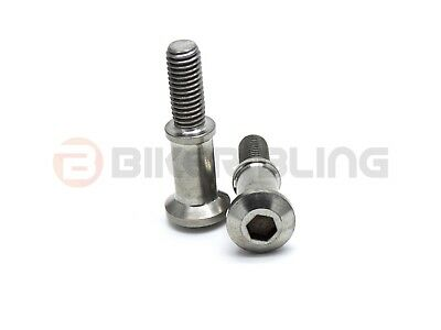 2x Honda hook bolts 90117-MAT-000 stainless steel