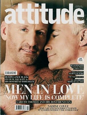 Attitude - Issue 249 - Gareth Thomas cover