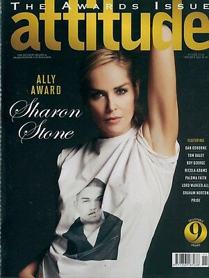 Attitude - Issue 250 - Sharon Stone cover