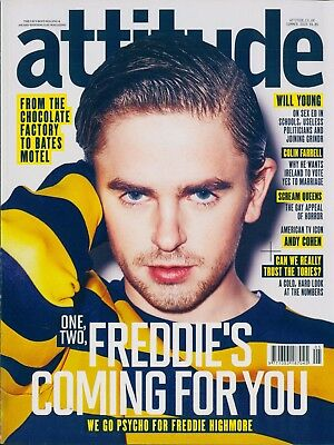 Attitude - Issue 257 - Freddie Highmore cover