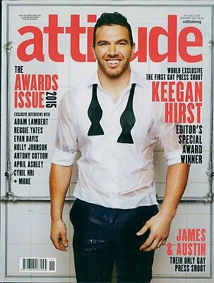 Attitude - Issue 263 - Keegan Hirst cover