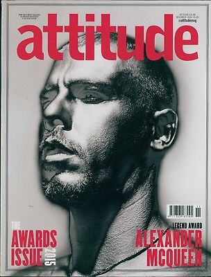 Attitude - Issue 263 - Alexander McQueen cover