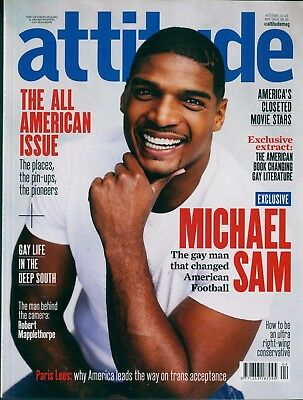 Attitude - Issue 269 - Michael Sam cover