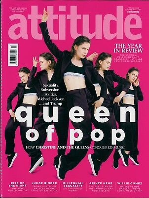 Attitude - Issue 278 - Christine & the Queens cover