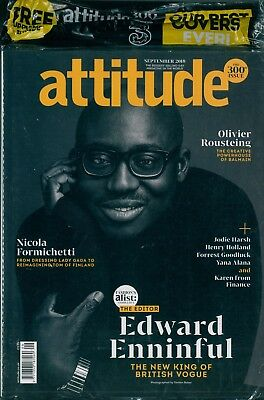 Attitude - Issue 300 - Edward Enninful cover