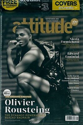 Attitude - Issue 300 - Olivier Rousteing cover
