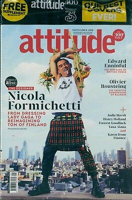 Attitude - Issue 300 - Nicola Formichetti cover