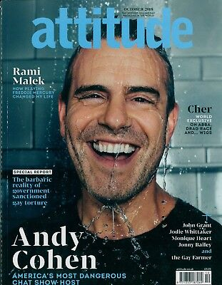 Attitude - Issue 301 - Andy Cohen cover