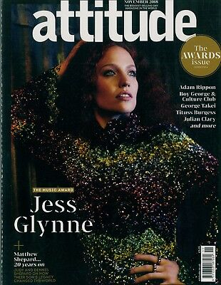 Attitude - Issue 302 - Jess Glynne cover
