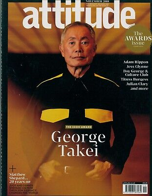 Attitude - Issue 302 - George Takei cover
