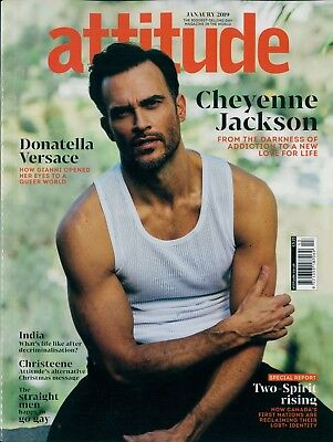 Attitude - Issue 304 - Cheyenne Jackson cover