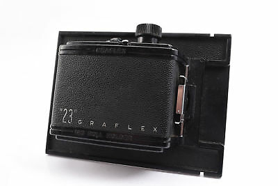 Graflex Graphic 23 6x9 120 Roll Film Holder Back for 4x5 Camera NO DARKSLIDE V28