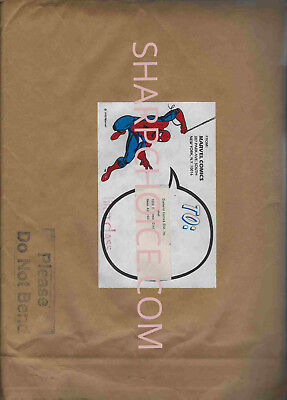 Copy of Spider-Man #1 PLATINUM Edition Letter to Retailers and  Marvel Envelope!