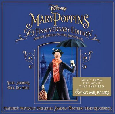 Various Mary Poppins 50Th Anniversary Edition Cd Soundtrack 2013 Brand New
