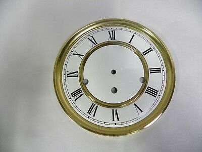 Vintage Metal Clock Face Dial Made In Germany (A4)