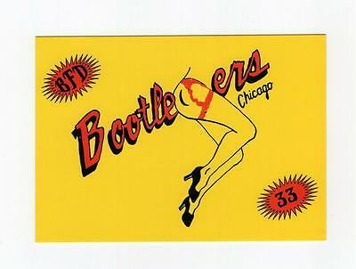 Postcard- Bootleggers -13 West Division Street- Chicago 1996