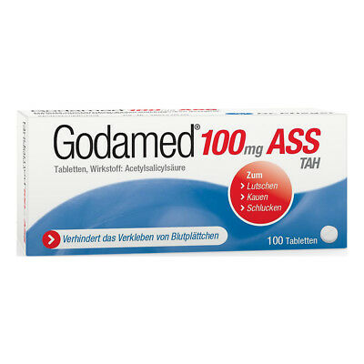 Godamed 100mg ASS TAH 100stk PZN 08621204