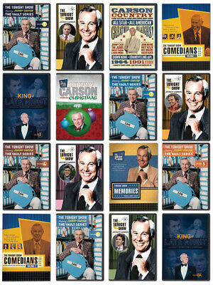 Johnny Carson Tonight Show 16 DVDs NEW / Out of Print / Full Shows & Highlights!