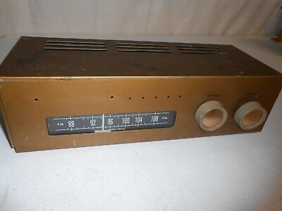 Heathkit Tube Radio Receiver Tuner Model FM-3A Untested For Parts or Repair