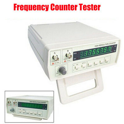 Digital Radio Frequency Counter RF Meter 0.01Hz~2.4GHz Period Victor