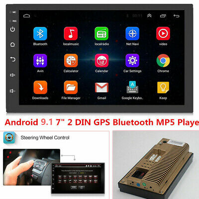 Universal 7'' 2DIN Android 8.1 BT Car Radio GPS Navigation Audio Stereo MP5 Unit