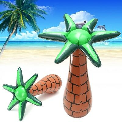 Inflatable Floating Coconut Palm Tree Swimming Pool Beach Lawn Party Toy Decor