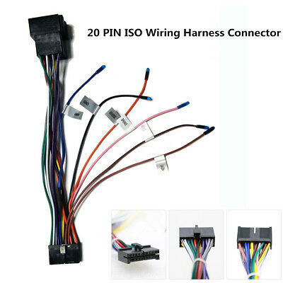 wiring harness connector pins car stereo 20 pin iso wiring harness connector adapter for android  iso wiring harness connector adapter