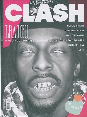 Clash - Issue 83A - Public Enemy cover