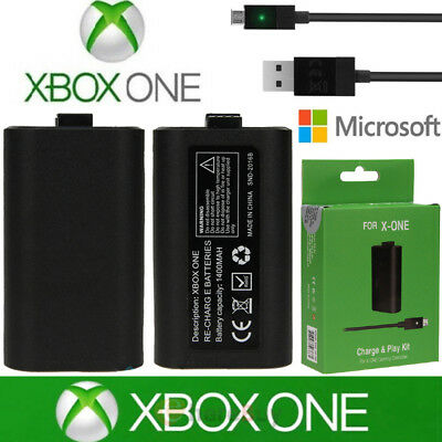 Rechargeable Battery For Official Microsoft XBOX ONE Play and Charge Kit Xbox