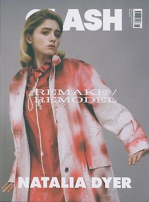 Clash - Issue 106A - Natalia Dyer cover