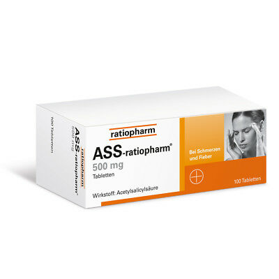ASS-ratiopharm 500mg 100stk PZN 03416422