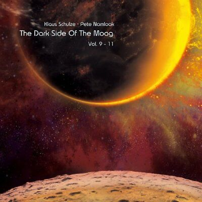 KLAUS SCHULZE & PETE NAMLOOK - The Dark Side Of The Moog Vol. 9 - 11 5 CD Box Ma